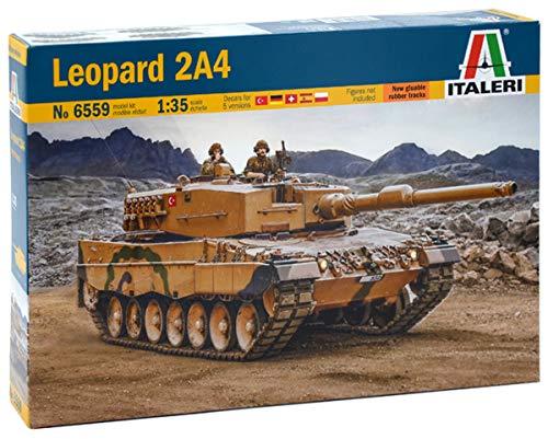 "Italeri Vehículo Leopard 510006559"" 1:35 2A4"