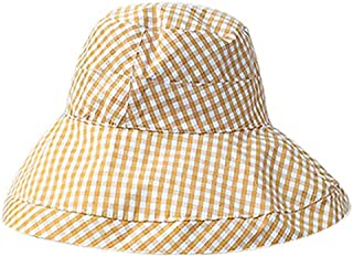 SODIAL New Summer Fashion Foldable Cap Sun Hat Woman Fisherman Hat Aimple All-Match Woman Dome Hat Black