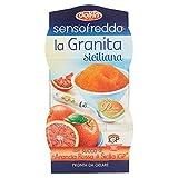 dolfin senso fredo granita siciliana, con succo di arancia rossa, 2 x 90ml