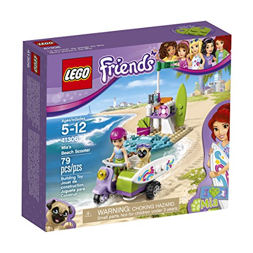 LEGO Friends Mia\'s Beach Scooter 41306 Building Kit
