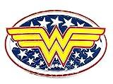 Gemelolandia Hebilla de Cinturón Wonder Woman 10x6,5cm | Complementos de Moda Unisex Para Hombres y Mujeres Exclusivos y Atemporales | Accesorios Para Regalos Originales