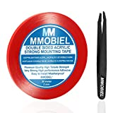 MMOBIEL 2 mm Double Sided Layer Acrylic Strong Adhesive Mounting Tape 30m Long Weatherproof Removable