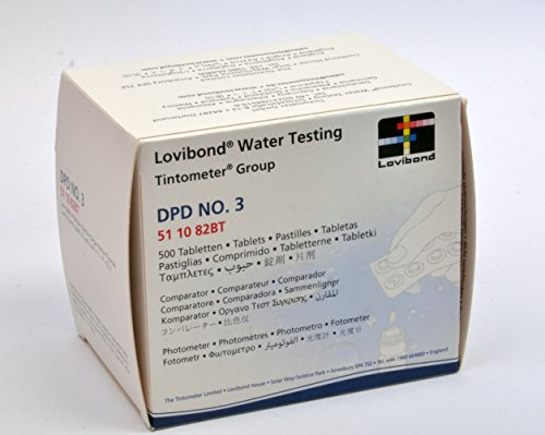 DPD No. 3 Pastillas BF en paquete de 500 fotómetros
