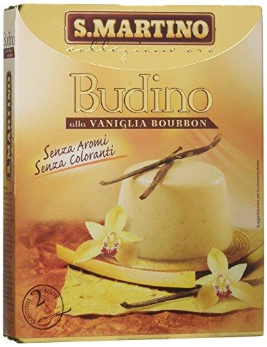 S.Martino - Budino Vaniglia Bourbon - Astuccio 70G