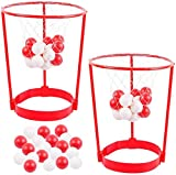 2 Set Head Hoop Basketball Party Games for Kids and Adults - Indoor Outdoor Basketball/Carnival Birthday Party Supplies Basket Net Headband Game