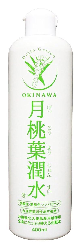 湿ったふくろうせがむ化粧水 月桃葉潤水 400ml 1本