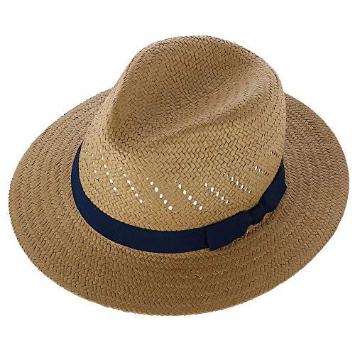 Broner Men s Vented Dress Safari Hat with Grosgrain Band, XLarge, Khaki