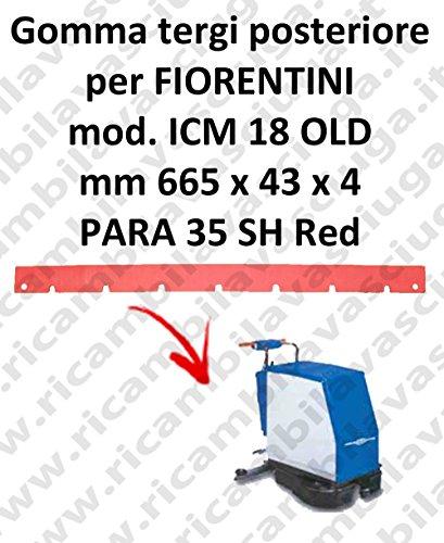 ICM 18 OLD rubberen behuizing voor vloerbedekking FIORENTINI