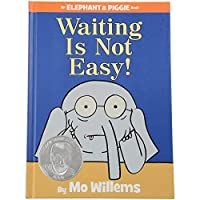 Constructive Playthings LB-571 Waiting Is Not Easy an Elephant and Piggie Book by Mo Willems Grade: Kindergarten to 3 6.8 Height 0.45 Wide 9.25 Length [並行輸入品]