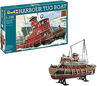 Revell- Maqueta Harbour Tug Boat, Kit Modello, Escala 1:108 (5207) (05207)