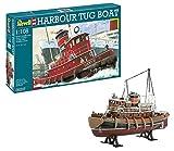 Revell- Harbour Tug Modello, Scala 1:108, Multicolore, 05207