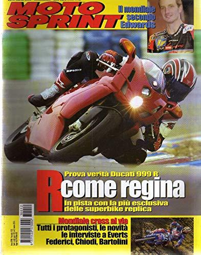 Motosprint 12 Marzo 2003 Ducati 999 R, BMW K 1200 GT,Federici Chiodi