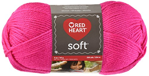RED HEART Soft Yarn, Pink