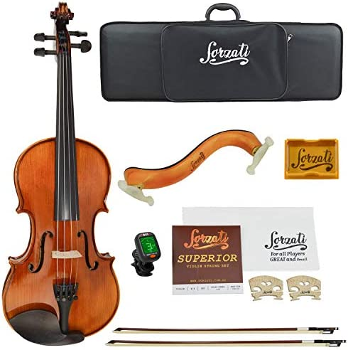Forzati FZV600 1 2 Half Size Violin Set Superior Handcrafted Violins Kids Violin Hand Varnished product image
