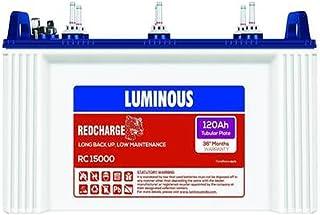 Luminous RC 15000Tubular 120AH Battery