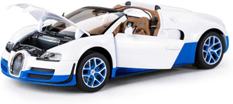 QRFDIAN Auto in lega originale Bugatti   modellolo di auto statica   Ornamenti di raccolta di giocattoli in mettuttio   Auto di simulazione per bambini 1  18   modellolo di auto   Auto giocattolo per bambin
