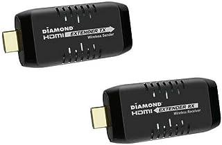 Diamond Wireless Dongle 30 FT Kit Black