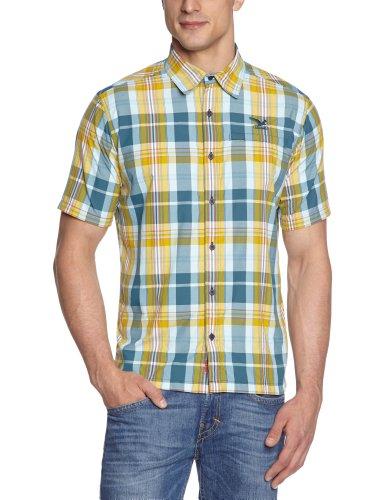 Salewa Herren Shirt Scratch Dry Short Sleeve, m balfur sahara/lull, 46/S, 00-0000023707