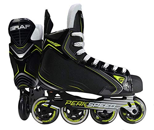 GRAF Max 110 Hockey Inliner Junior, Weite :R = Regular, Größe:35