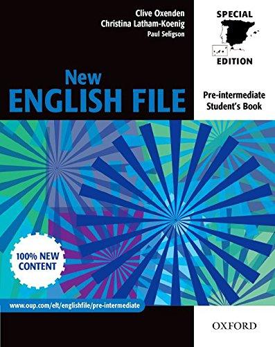New English FILE Pre-Intermediate. Student's Book for Spain (New English File Second Edition)