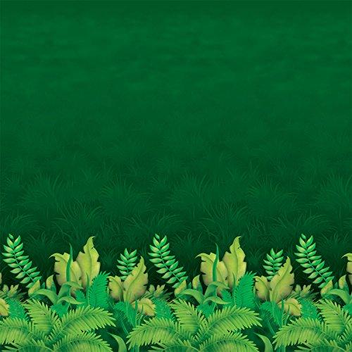 Jungle Foliage Plastic Backdrop (4 Ft. X 30 FT.) (Group Cross Culture VBS 2017)