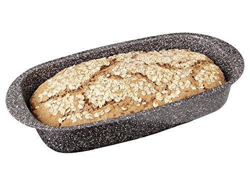 chg Skandia Xtreme Plus - Molde para pan (37 x 20 x 7 cm, revestimiento antiadherente, 4 capas, efecto granito, 37 x 20 x 7 cm)