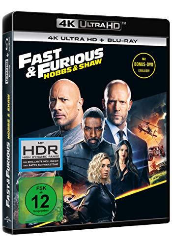 Fast & Furious: Hobbs & Shaw (4K Ultra HD) (+ Blu-ray 2D) (+ Bonus-DVD)
