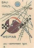 Poster, Motiv: Walter Gropius, 1923 Weimar Ausstellung, 250