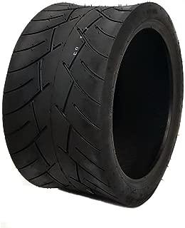 MMG Tubeless Type Street Tire Size 17x8-12 (Front or Rear) for Golf Cart, Honda Ruckus, Maddog Ruckus Clone and ATV/UTV Vehicles