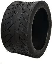 MMG Tubeless Type Street Tire Size 205/30-12 (Front or Rear) for Golf Cart, Honda Ruckus, Maddog Ruckus Clone and ATV/UTV Vehicles