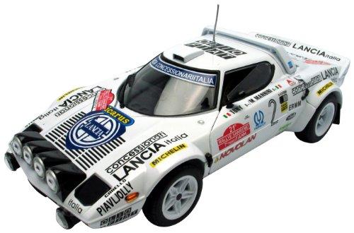 LANCIA STRATOS HF Tony/M.Mannini Winner 1979 Rallye Sanremo 1:18 (Sun Star 4510)