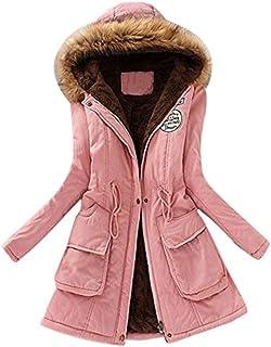 Sportbekleidung Streetwear LHWY Damen Winterjacke Pullover Winter Elegant Outwear Frauen Warme Lange Jacke Pelzkragen Kapuzenmantel Große Größe Parka Windbreaker