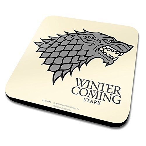 GAME OF THRONES STARK COASTER