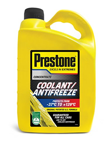 Prestone Coolant/Antifreeze - Concentrate 4lt