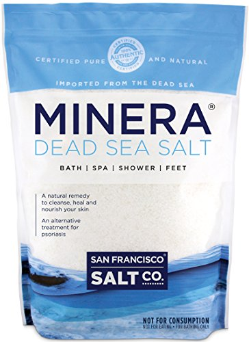 Minera Dead Sea Salt - 2 lb. Bag Fine Grain