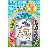 Perler 80-63077 3D Pets Fuse Bead Kit, 2004pc, 10 Patterns, Multicolor