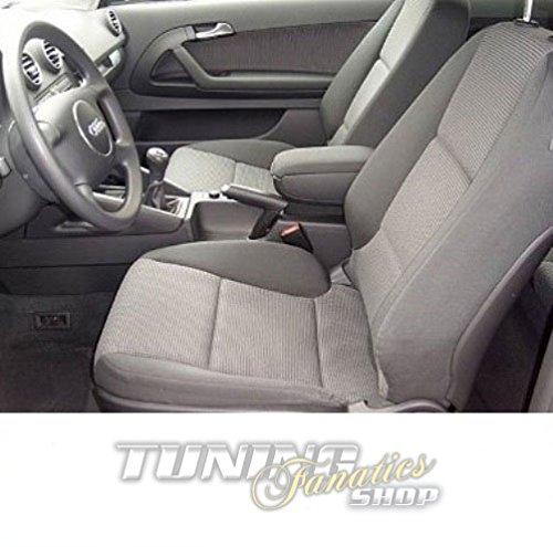 Mittelarmlehne / Mittel-Armlehne mit klappbarem staufach / Mittel-konsole, Fahrzeugspezifisch, Farbe:Grau (Stoff)