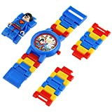 LEGO[レゴ] MODEL NO.8020257 DC Universe スーパーマン フィギア付き 腕時計 子供用 キッズ[並行輸入品]