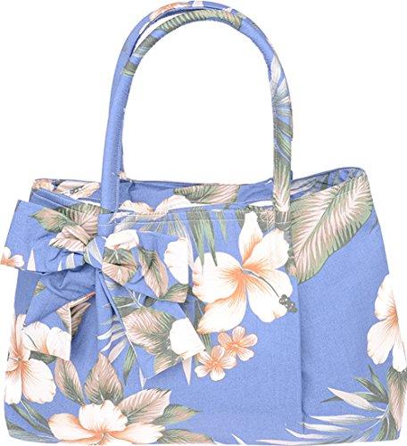 Küstenluder Damen Tasche Aleen Vintage Hawaii Shopper Blau