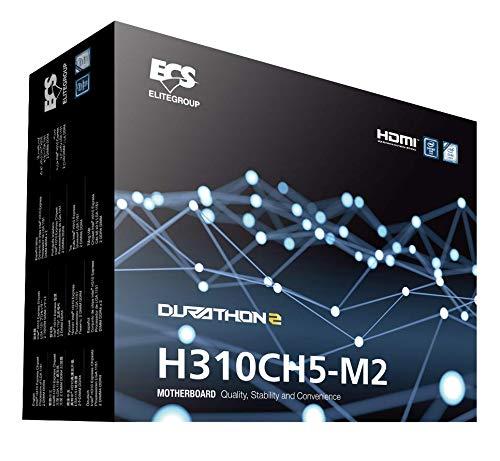 ECS Elitegroup H310CH5-M2 Motherboard (8. / 9. Generation Intel Core, LGA 1151 Sockel, DDR4 und VGA/HDMI)