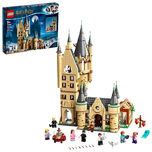 LEGO Harry Potter Hogwarts Astronomy Tower 75969; Great Gift for Kids Who Love Castles, Magical Action Minifigures and Harry Potter and the Half Blood Prince Toys, New 2020 (971 Pieces)