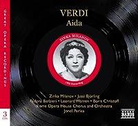 ヴェルディ:歌劇「アイーダ」全曲(ミラノフ/ビョルリンク)(1952)