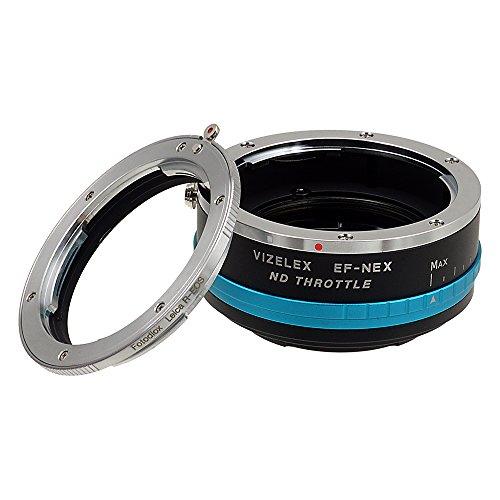 Fotodiox Pro Vizelex del Acelerador de Densidad Neutra Anillo Adaptador de Objetivo con de Densidad Neutra 2-1000 Filtro de para Leica R-Series a Sony E-Mount cámara