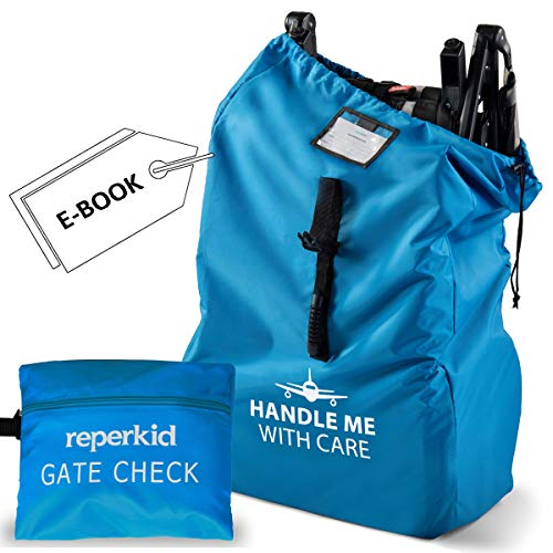 Stroller Travel Bag for Airplane Gate Check Bag - Large Standard or Double Stroller Gate Check in