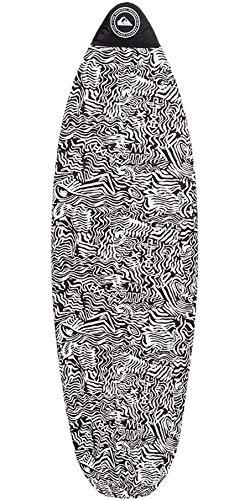 QUIKSILVER Calcetines de Tabla de Surf Euroglass Shortboard 5';6'Negro - Easy...