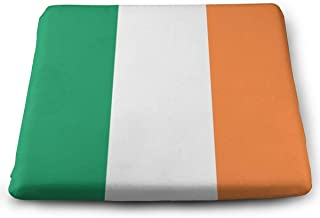 Xgjfgkjk Ireland Flag Ultra Soft Non Slip Memory Foam Square Chair Pad Cushion