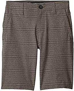 オニール ONeill Kids キッズ 男の子 ショーツ 半ズボン Dark Army Locked Stripe Hybrid Shorts [並行輸入品]