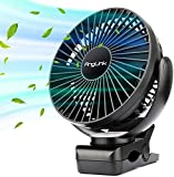 Product Image of the AngLink 5000mAh 6-Inch Large Battery Powered Clip on Fan, 3 Speeds Fast Air...