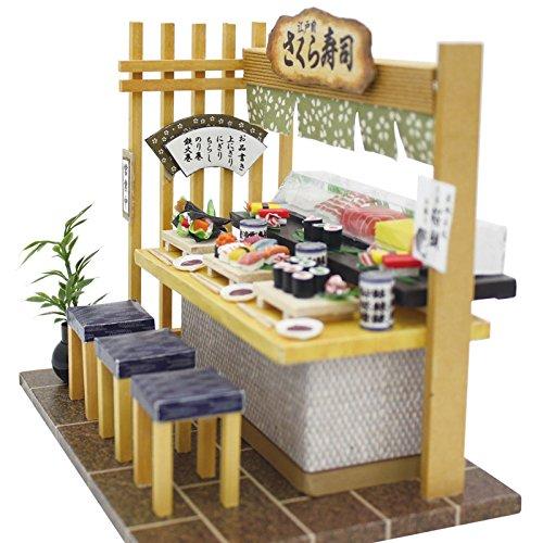 ドールハウス キット 日本のごちそう 和食キット 寿司屋