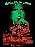 CLASSIC POSTERS The Sex Pistols Foto-Nachdruck eines